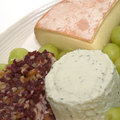 Free Cheeses And Grapes Stock Photo - 6814350