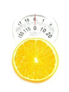 Free Orange On Scales Stock Image - 6810171