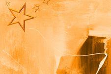 Free Stars On Artwork Stock Image - 6810301