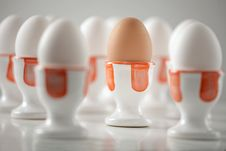 Free Eggs In Cups Royalty Free Stock Images - 6810449
