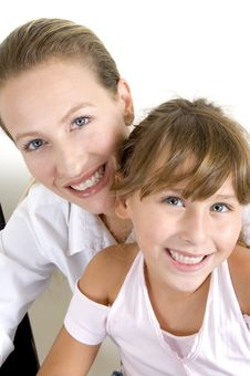 Free Happy Mother And Daughter Royalty Free Stock Photography - 6810787