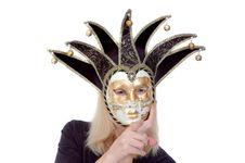 Free Mask Chooses You Royalty Free Stock Photos - 6810838