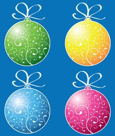 Free New Year Toys Stock Photo - 6811270