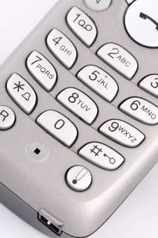 Free Keypad Phone Stock Image - 6811731