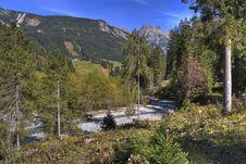 Free Alpine Stream Royalty Free Stock Photos - 6811908