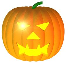 Free Jack-o-Lantern Royalty Free Stock Photography - 6812107