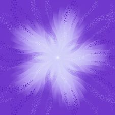 Free Stars Background Violet Royalty Free Stock Image - 6812306