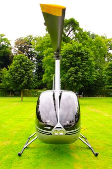 Free Private Helicopter Royalty Free Stock Image - 6812326