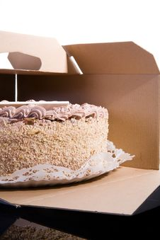 Free Caramel Cake Royalty Free Stock Photos - 6812588