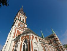 Free Old Swedish Church 12.8MP Royalty Free Stock Images - 6812639