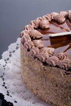 Free Caramel Cake Stock Image - 6812711