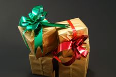 Free New Year Box Royalty Free Stock Photo - 6812755