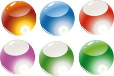Free Color Spheres Stock Image - 6813081