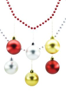 Free Christmas-tree Decorations Stock Photo - 6813400