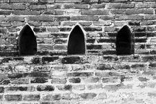 Free Brick Wall At Ancient City Stock Photos - 6813463