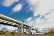 Free Industrial Pipelines Stock Image - 6813611