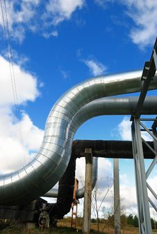 Free Industrial Pipelines Stock Photo - 6813630