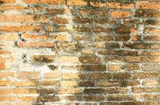 Free Brick Wall At Ancient City Stock Images - 6813634