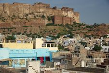 Free Jodhpur And Its Fort Stock Photography - 6813692