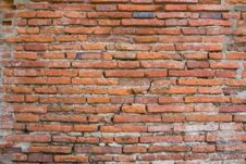 Free Brick Wall At Ancient City Royalty Free Stock Photography - 6813767