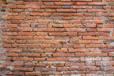 Brick Wall At Ancient City Royalty Free Stock Photography