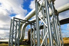 Free Industrial Pipelines Stock Photography - 6814082