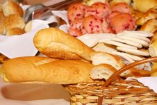 Free Basket Of Bread Royalty Free Stock Images - 6814469