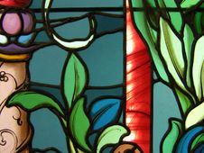 Free Stained Glass Window Stock Photography - 6814612
