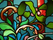 Free Stained Glass Window Stock Photography - 6814622