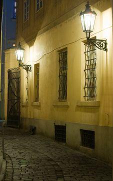 Free Old Lane In Prague Stock Images - 6814734