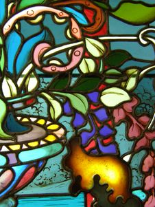 Free Stained Glass Window Stock Photography - 6814792