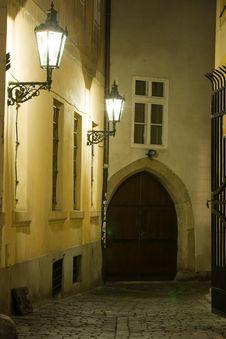Free Old Lane In Prague Stock Photos - 6814833