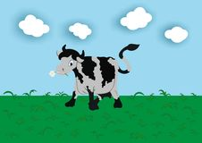Free Cow On A Meadow Stock Image - 6814961