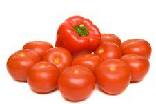 Free Tomato Royalty Free Stock Photography - 6815107