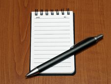 Free Notepad Royalty Free Stock Image - 6815906