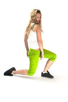 Free Sport Girl Stock Image - 6816021