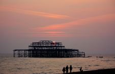 Free West Pier Royalty Free Stock Image - 6816306