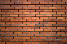 Free Red Brick Wall Stock Image - 6816361