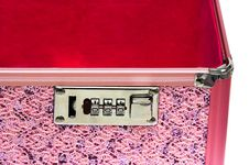 Free Pink Safe Box Stock Photography - 6816452