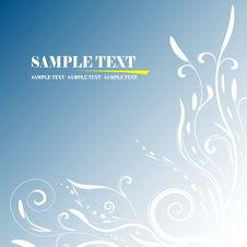 Free Floral Banner Vector Royalty Free Stock Images - 6816479