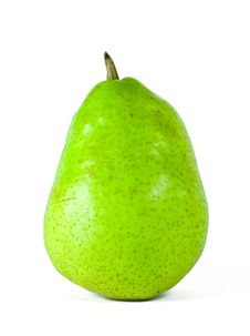 Free Fresh Green Pear Royalty Free Stock Image - 6816996
