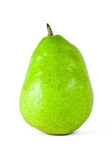 Fresh Green Pear Royalty Free Stock Image