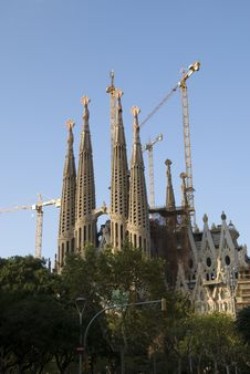 Free Sagrada Familia Royalty Free Stock Photography - 6817007