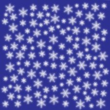 Free Snowflake Background Stock Photography - 6817212
