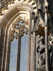 Free St Vitus Cathedral Detail. Prague Royalty Free Stock Images - 6817219