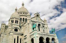 Free Basilica Of Sacre-Coeur, Montmartre, Paris, France Stock Images - 6818084
