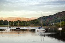 Free Sailboats On The Scottish Lake Stock Photo - 6818390