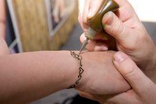 Free Hand Painting Stock Photos - 6818793
