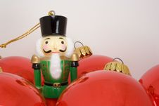 Free Nutcracker Toy Soldier Ornament Royalty Free Stock Photography - 6819097