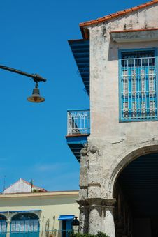 Free Old Havana Architecture Royalty Free Stock Images - 6819349